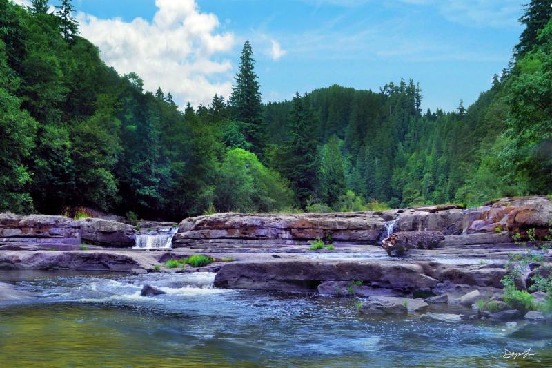 """""""Smith River Falls"""""""