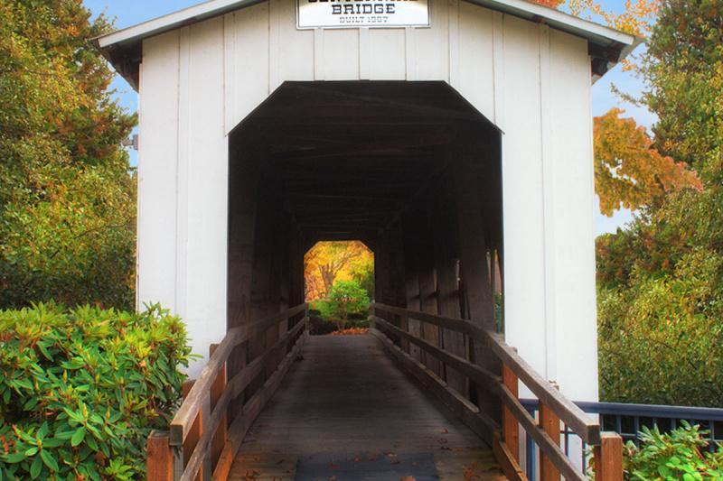 """Centennial Bridge"""