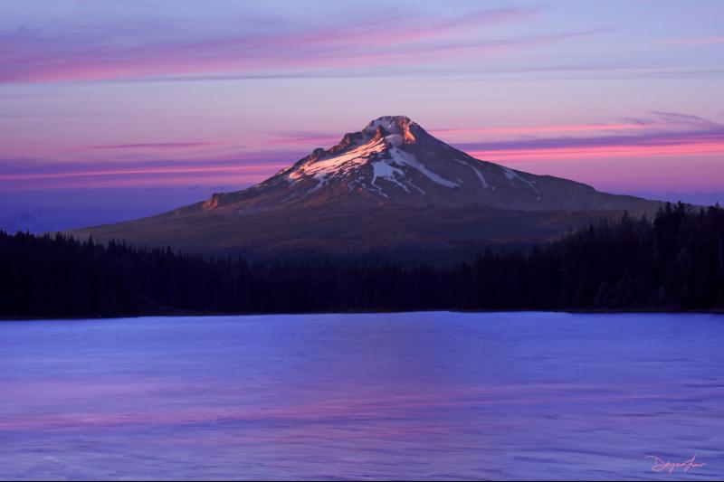 """Mt. Hood – Trillium Lake"""