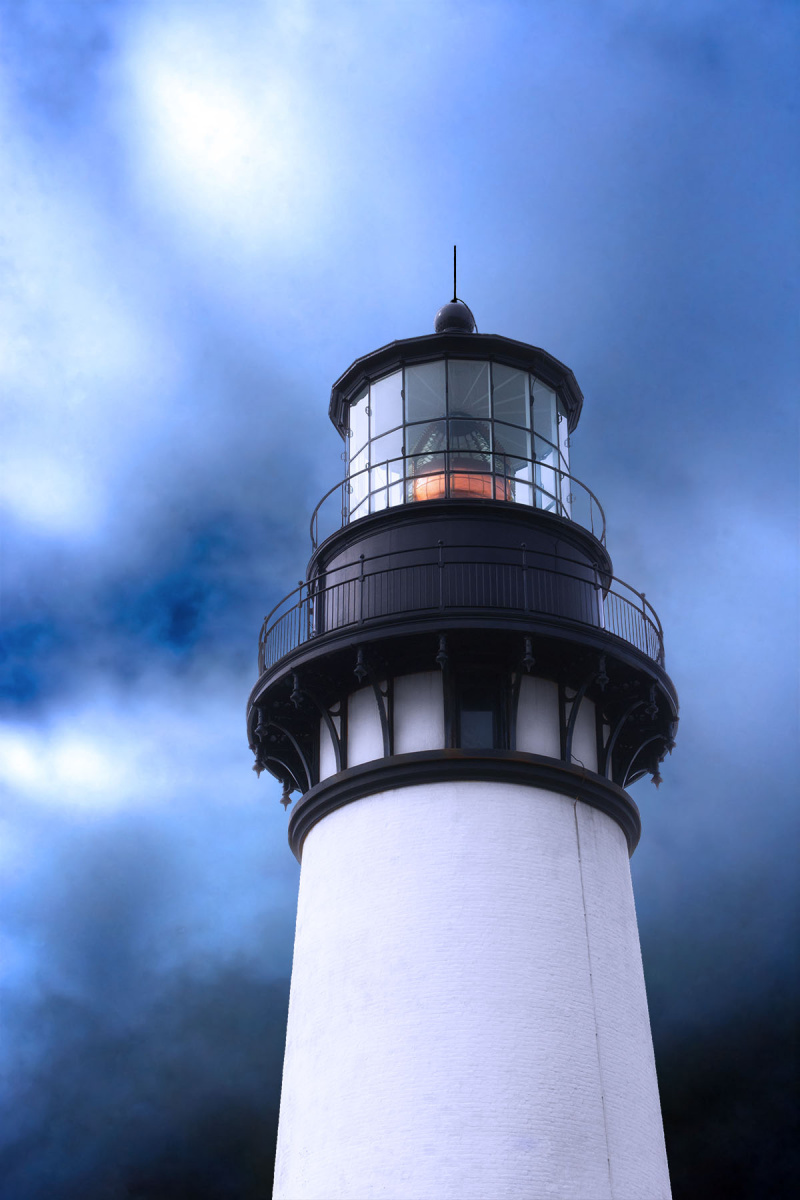 Top of Yaquina Lighthouse