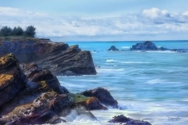 Coastal Blues Shore Acres