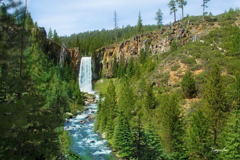 """""""Tumalo Falls"""""""